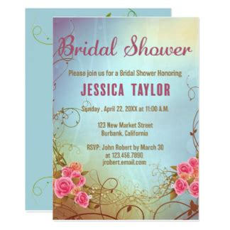 nature themed bridal shower invitations lounge invitations announcements zazzle au