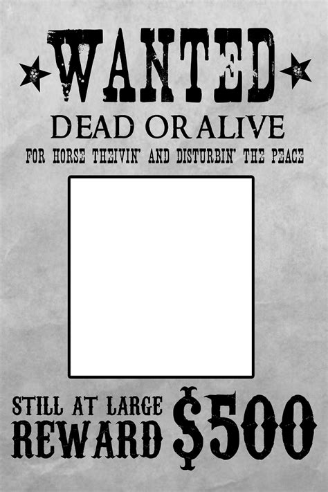 wanted poster template word wanted poster template word free page borders for