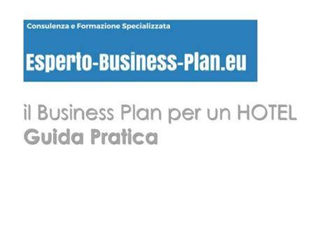 business plan per business plan per hotel guida pratica
