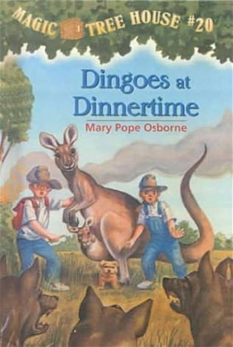 dingoes at dinnertime the magic tree house wiki