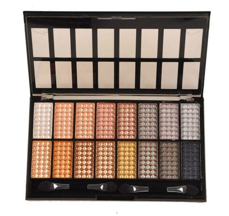 Eyeshadow Wardah Seri A Review ms2000b colour eyeshadow cosmetics mineral make up eye shadow palette 16 color 4 seri shimmer