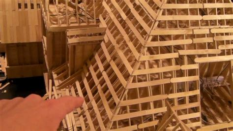 22   Building Popsicle Stick House   YouTube