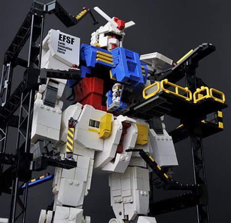 Hanger Anime Gundam Rx78 lego x mobile suit gundam rx 78 2 concept by gyuta freshness mag