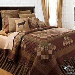 California King Bedspreads Quilts Country Cabin Patchwork Twin Queen Cal King Size Quality