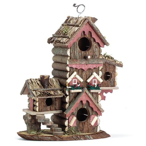 decorative bird houses decorative wooden gingerbread style bird house wood birdhouse unique ebay