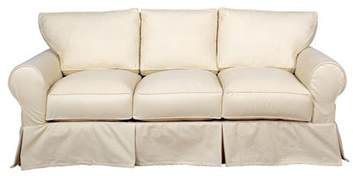 Three Piece Sofa Slipcover Dilworth Slipcover 3 Cushion Queen Sleeper Sofa