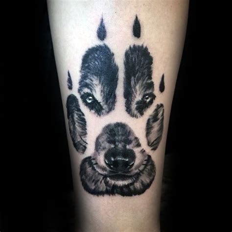 wolf paw tattoo 25 best ideas about wolf tattoos on wolf