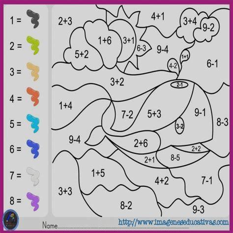 dibujos para colorear sumasyrestas colorea por sumas y n dibujos para colorear sumasyrestas colorea por sumas y n