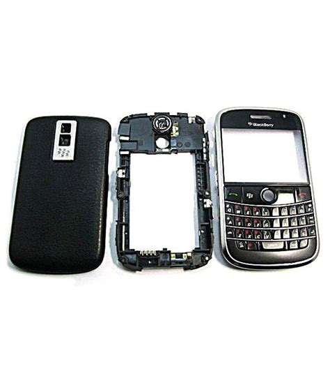 Promo Blackberry Bold 9000 Black housing for blackberry bold 9000 black mobile spare parts at low prices