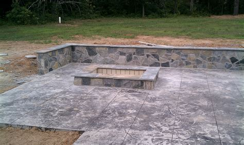 Built In Firepit Should I Build A Pit Or A Fireplace Revolutionary Gardens