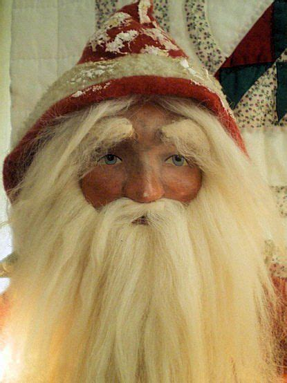 Handmade Santas - 101 best images about handmade santas on