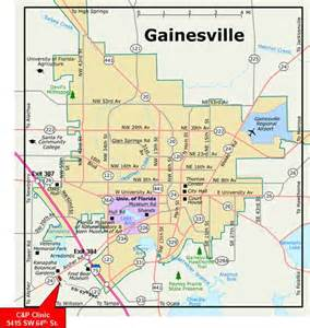 gainesville florida map map of gainesville florida neighborhoods map of