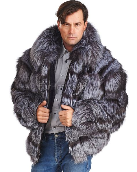 Jaket Bomber Fox fur bomber jacket mens jackets review