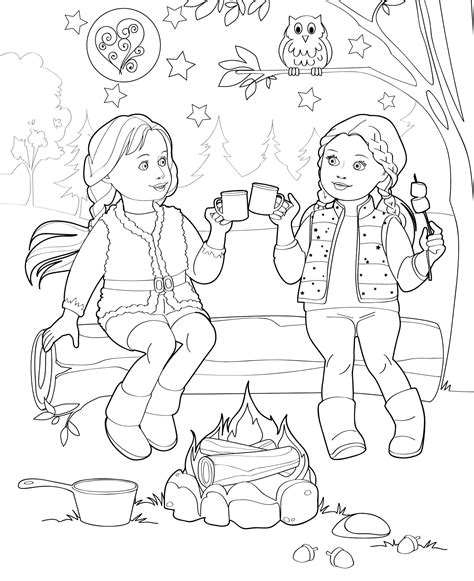 coloring doll doll coloring books our generation