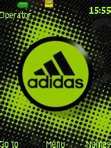 adidas themes for nokia asha animated adidas mobile themes for nokia asha 203
