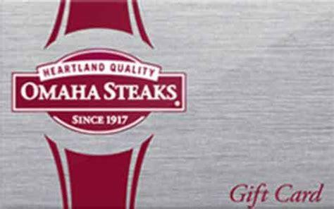 Omaha Steaks Gift Card Balance - buy omaha steaks discount gift cards giftcard net