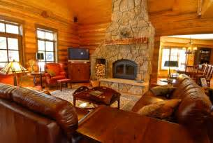 log home living rooms creek hybrid log home rustic living room