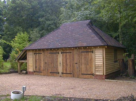 West Coast Barns And Sheds by Traditional Oak Framed Garage The West Sussex Antique