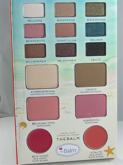 The Balm Voyage Vol 2 Palette the balm balm voyage vol 2 review swatches musings of
