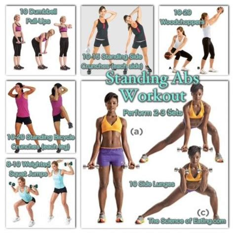 135 best abs standing images on losing weight sport and ab workouts