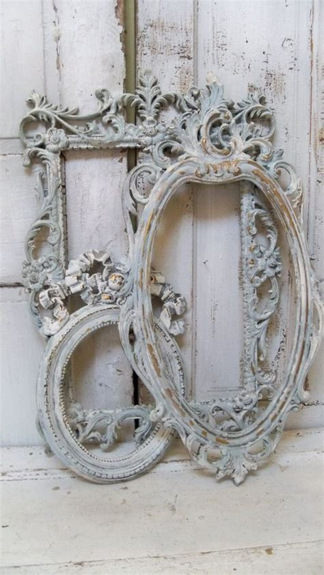 shabby chic white picture frames best 25 shabby chic frames ideas on shabby