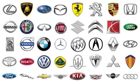 car brand car brands with symbols