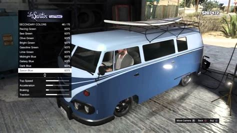 volkswagen type 5 gta 5 fully customized surfer van vw type 2 youtube