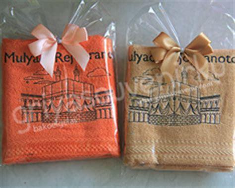 Suvenir Handuk Bordir Nama souvenir handuk bordir griya souvenir