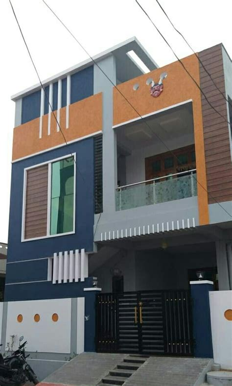 pin  karthik reya  house designkk house front design