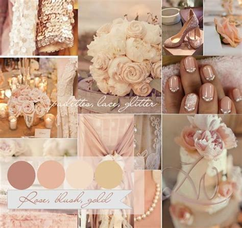 Possible Wedding Colour Scheme   Dusty Rose, Champagne