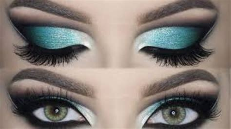 eyeliner tutorial on dailymotion aqua green eye makeup aqua and blue eye makeup tutorial