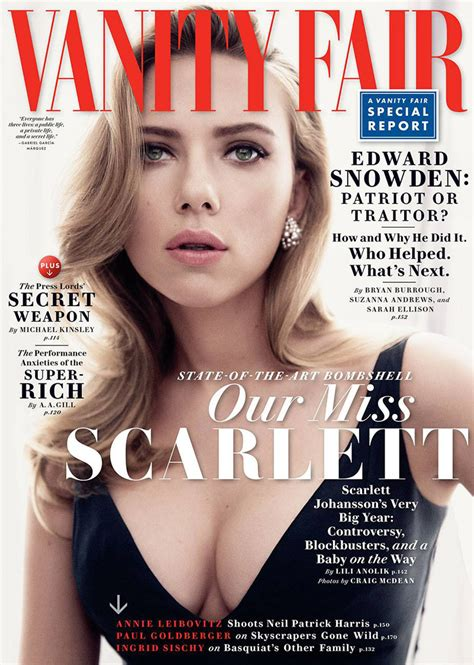 Vanity Fair Magazine Vanity Fair Johansson Gets Sultry For Vanity Fair May 2014 Cover