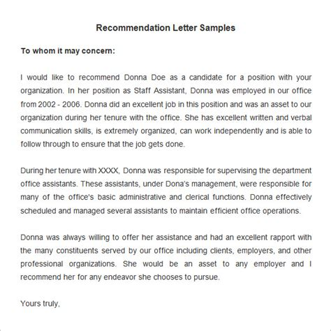 Requesting A Service Letter From Previous Employer request for recommendation letter from former employer