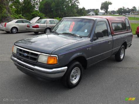 ford opal 1993 opal grey metallic ford ranger xlt regular cab