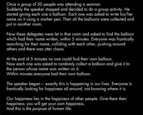 people    room full  balloons  learned  life lesson