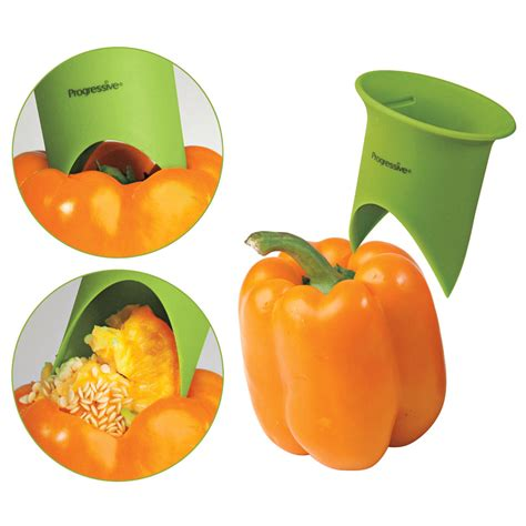 kitchen gadgets bell pepper corer the green head