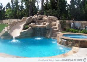 Backyard Pool Slides Best 25 Pool Slides Ideas Only On Swimming Pool Slides Pool With Slide And