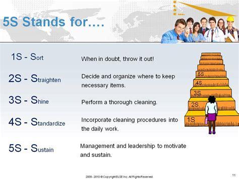 5s Presentations Lean 5s Quotes Quotesgram