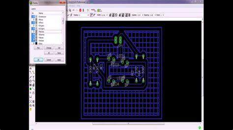 desain lu led sederhana tutorial membuat desain rangkaian led dengan eagle youtube