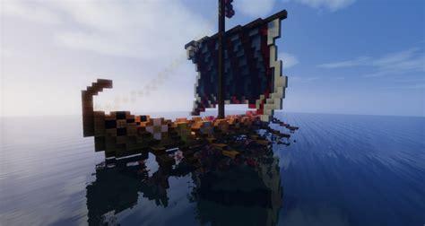 minecraft longboat viking s longboat minecraft project