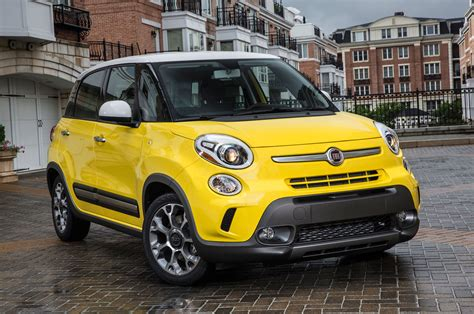 2014 fiat 500l right front angle photo 1