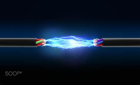 electrical spark   wires wallpapers hd desktop