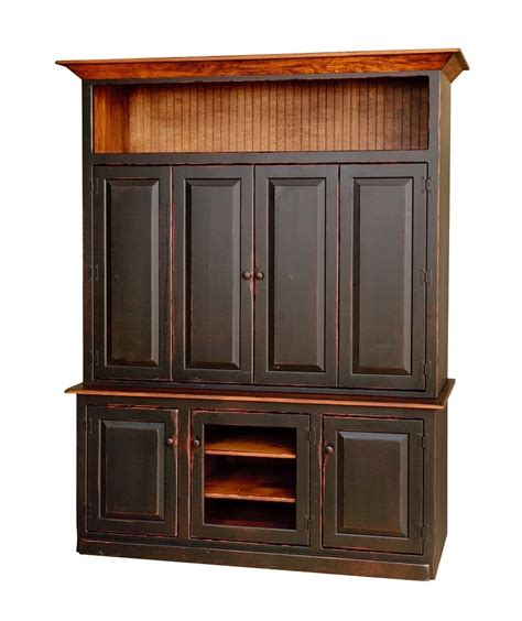 Armoire Television Cabinet by Primitive Rustic Entertainment Center Armoire Tv Stand