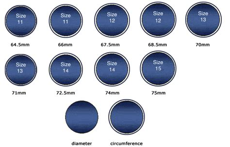 ring size chart tribu