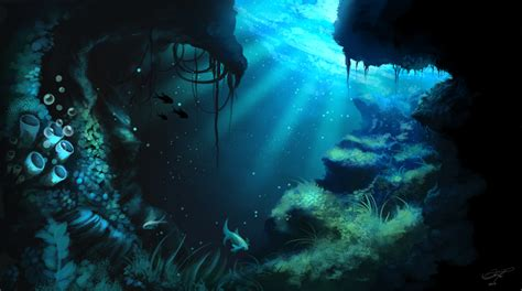oceans inspirational concept art