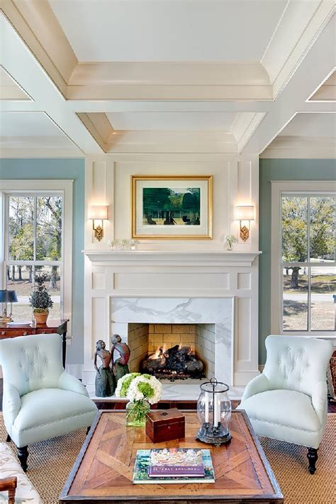 living room mantel ideas elegant and feminine home design ideas by sarah richardson