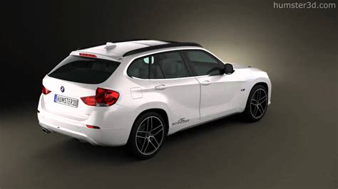 bmw x1 ac schnitzer bmw x1 2010 ac schnitzer by 3d model store humster3d