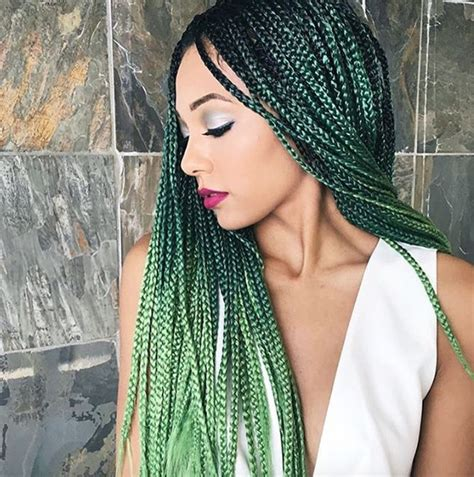 ombre twists hair pretty green ombre misaeee http community