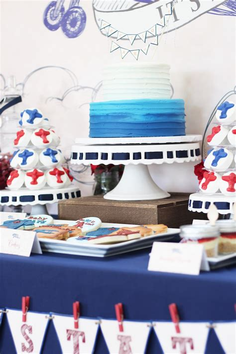 Airplane Baby Shower Ideas by Classic Airplane Baby Shower Baby Shower Ideas Themes