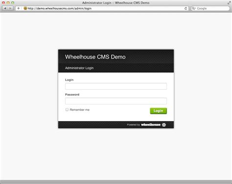 site administrator s guide wheelhouse cms documentation